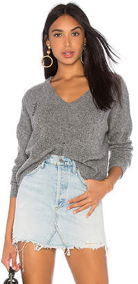 Autumn Cashmere Distressed Boxy Sweater