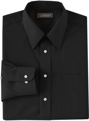Croft & Barrow Men's Classic-Fit Easy Care Point-Collar Dress Shirt