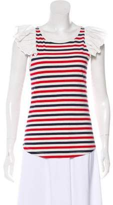 Sonia Rykiel Sonia by Striped Knit Top