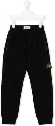 Stone Island Junior zipped pocket sweatpants