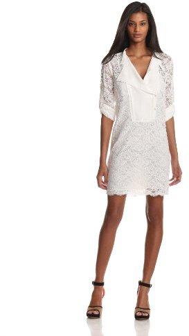 BCBGMAXAZRIA Women's Lunah Knit Sportswear Dress