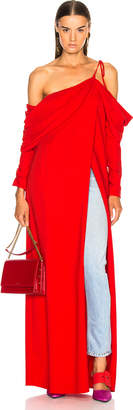Monse Cowl Sleeve Gown