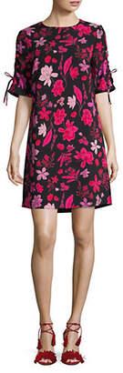 Lord & Taylor Floral-Print Shift Dress