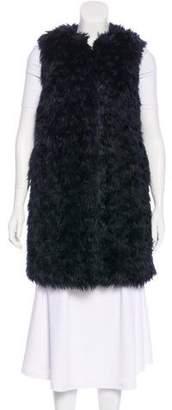 MICHAEL Michael Kors Faux Fur Longline Vest