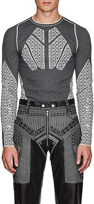 GmbH Men's Jacquard-Knit Sweater