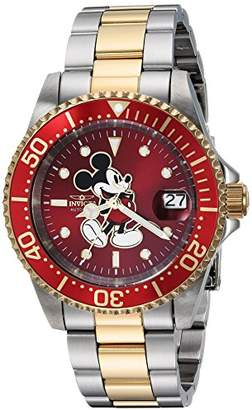Invicta Men's 'Disney Limited Edition' Automatic Stainless Steel Casual Watch