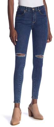 Denim & Supply Ralph Lauren Dr. Denim Supply Co Lexy Distressed High Rise Super Skinny Jeans