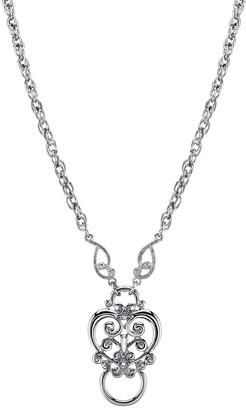 1928 Angel Pendant Necklace