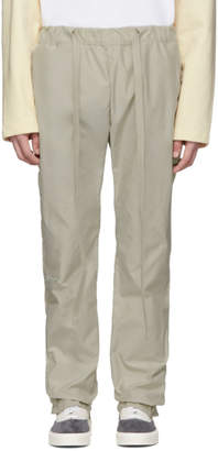 Fear Of God Beige Baggy Lounge Pants