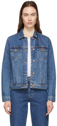 Won Hundred Blue Denim Seventeen Jacket