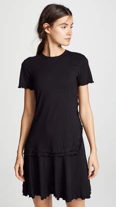 Derek Lam 10 Crosby Short Sleeve T-Shirt Dress