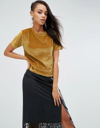 ASOS T-Shirt in Velvet $28 thestylecure.com