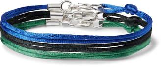 Rubinacci - Set of Three Silk Ribbon Bracelets