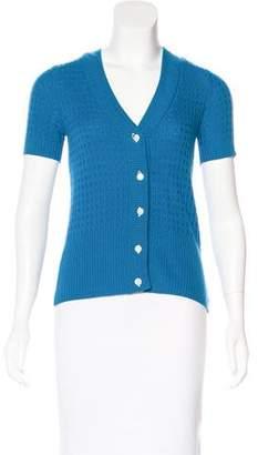 Mayle Cashmere Short Sleeve Cardigan