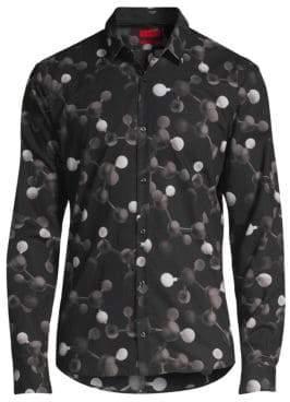 HUGO Extra Slim Fit Molecular Sport Shirt