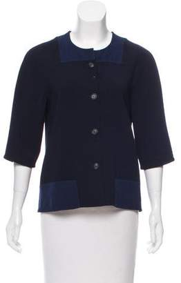 Lyn Devon Lightweight Button-Up Jacket