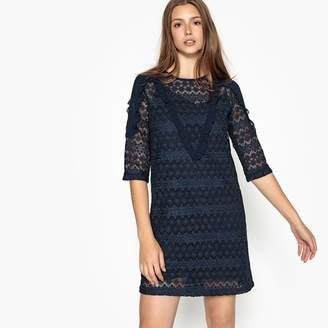 Suncoo Corey Lined Lace Dress