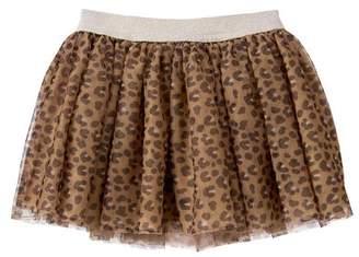 Gymboree Cheetah Tulle Skirt