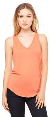 Clementine Apparel Women's Flowy V-Neck Tank Top