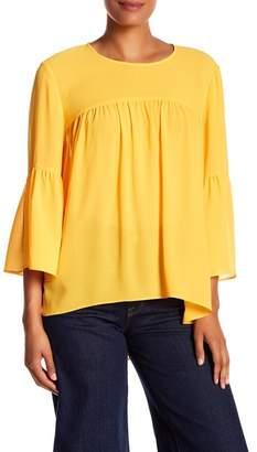 Rachel Roy Gia Georgette Bell Sleeve Blouse