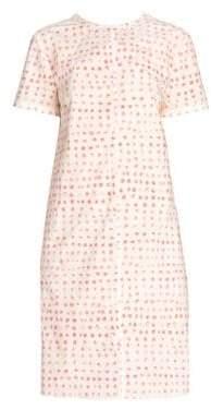 Marni Women's Polka Dot Shift Dress - Antique White - Size 46 (10)