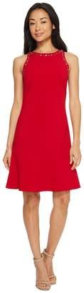 Ellen Tracy Sleeveless Flounce Hem Dress Women's Dress