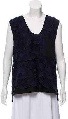 Jason Wu Grey by Laced Sleeveless Top