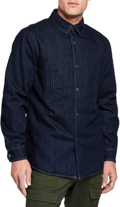 Slate & Stone Men's Denim Shirt Jacket