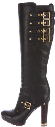 Tory BurchTory Burch Buckled Leather Boots