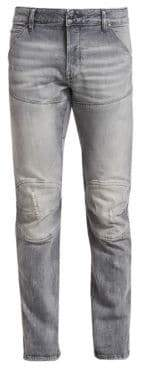 G Star Distressed Slim-FIt Jeans