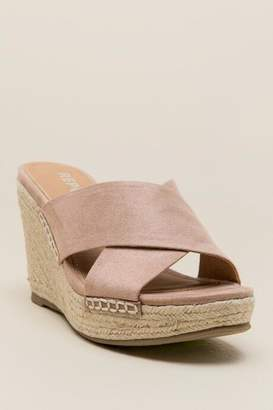 Report Delmar Mule Wedge - Taupe