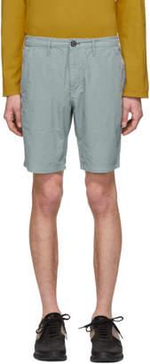 Paul Smith Blue Cotton Shorts