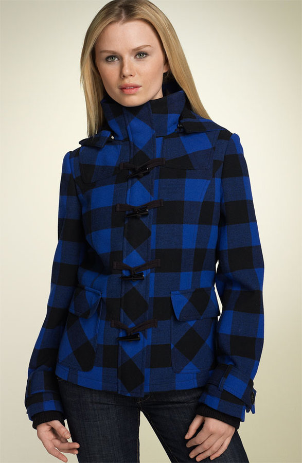 Artifacts Buffalo Plaid Duffle Jacket