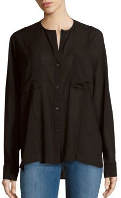 James PerseSolid Button-Down Shirt