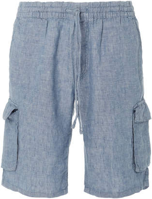 Onia Tom Linen-Blend Shorts