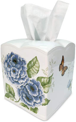 Lenox Blue Floral Garden Tissue Holder Bedding