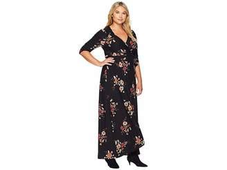Kiyonna Meadow Dream Maxi Dress