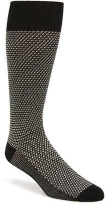 Men's Calibrate Jacquard Pattern Socks $12.50 thestylecure.com