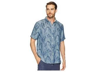 Tommy Bahama Help Me Fronda Linen Camp Shirt Men's Clothing