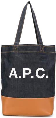 A.P.C. (アー ペー セー) - A.P.C. ロゴプリント トートバッグ