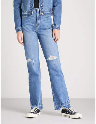 NOBODY DENIM Arlo Jean Long straight high-rise jeans