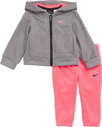 Nike Therma Heather Full Zip Hoodie & Leggings Set
