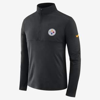 bbc6811c952e Nike Men s Long-Sleeve Half-Zip Top Dri-FIT (NFL Steelers)