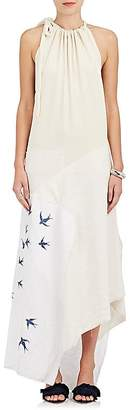 J.W.Anderson Women's Embroidered Patchwork Halter Dress