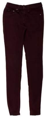 Rag & Bone Low-Rise Skinny Leggings