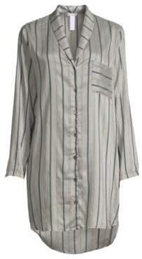 Hanro Malie Striped Sleep Shirt