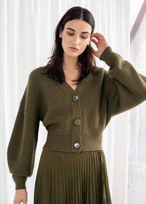 1ec511b439 And other stories Cropped Cardigan
