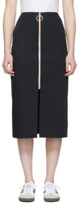 Harmony Navy Janisse Zip Skirt