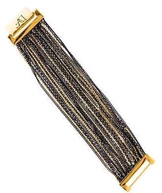 Diane von Furstenberg Multistrand Bracelet Gold Multistrand Bracelet