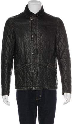 Burberry Quilted Leather Jacket
